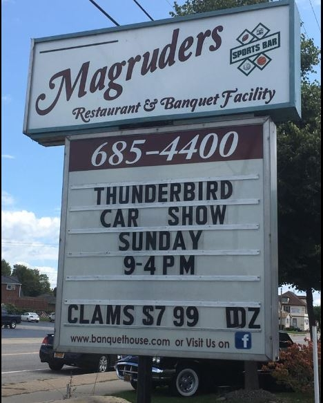 Magruders sign