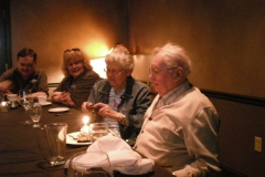 George Trautman 90th birthday
